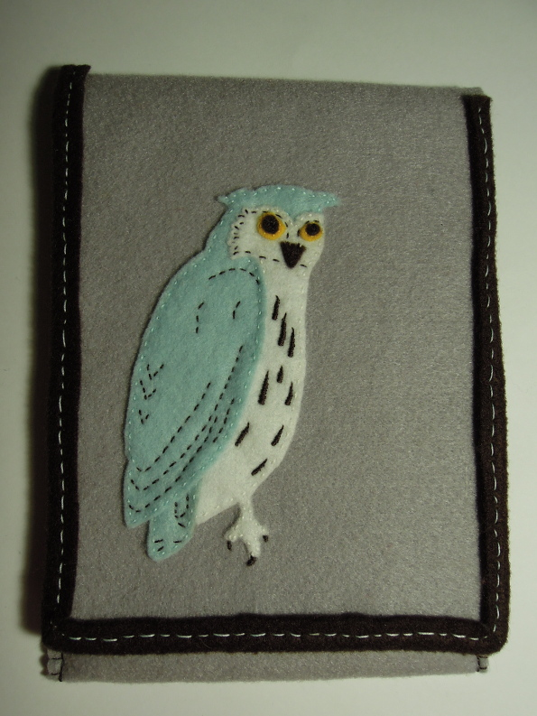 Owl Kindle Case Front