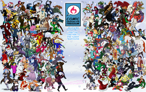 Comic Creators for Freedom Wallpaper Preview