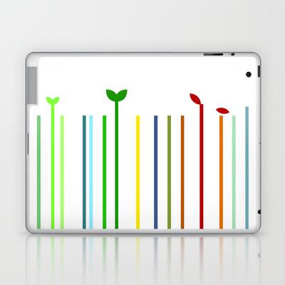 Four Seasons Laptop Skin