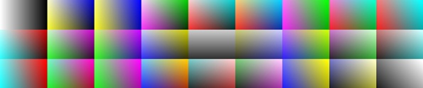 gradients tiled
